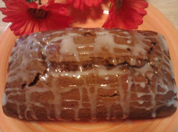 Pumpkin-banana Bread W/pumpkin Almond Glaze Recipe