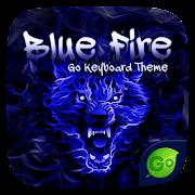 App Blue Fire GO Keyboard Theme APK for Windows Phone