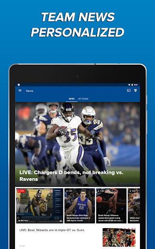 CBS Sports App - Scores, News, Stats & Watch Live 9.9.1 screenshots 21