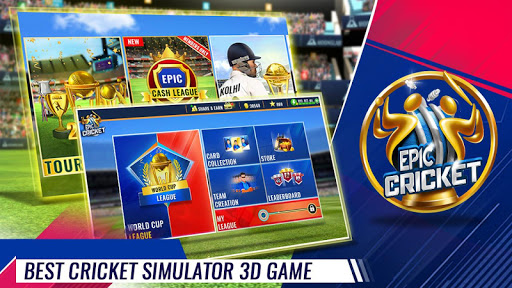 Epic Cricket - Best Cricket Simulator 3D Game apkpoly screenshots 2