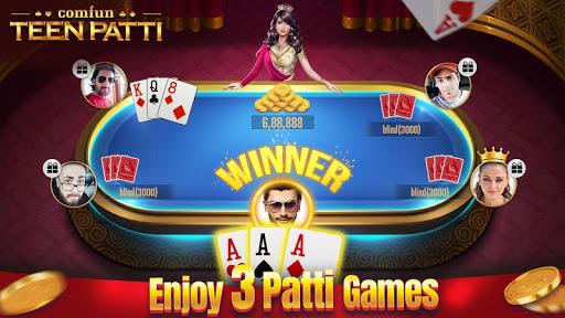 Teen Patti Comfun-3 Patti Flash Card Game Online 5.5.20200611 screenshots 3