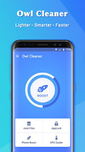 Owl Cleaner-Cache Cleaner&Cleaner Master poster