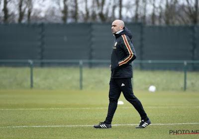 """Martinez: """"A part Lukaku et Courtois, tout le monde est fit"""" mais il manquait deux Diables à l'entraînement"""