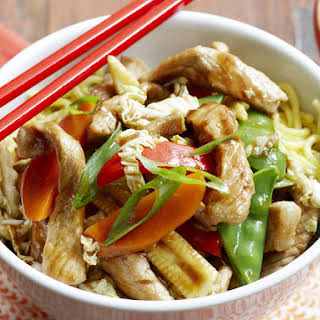 Pork and Vegetable Stir-Fry.