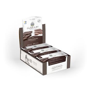 Chocolat Tablette de chocolat noir Boîtes présentoirs