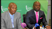 City of Tshwane manager Moeketsi Mosola, left, and  mayor Solly Msimanga are once again at loggerheads. This time it's over the appointment of an acting city manager.