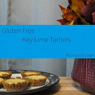 Gluten Free Key Lime Tartlets #SundaySupper
