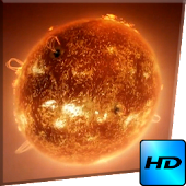 Sun Live Video Wallpaper