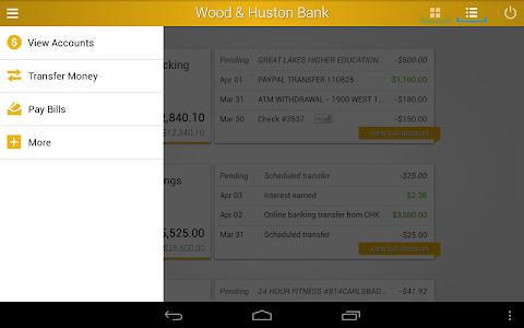 Wood & Huston Bank screenshot 6