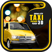 Snow City Taxi Driver Rush 3D