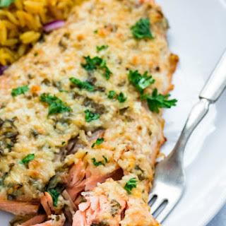Parmesan Herb Salmon.