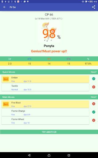 冒險必備免費app推薦|IV Go(Pokemon 個體值 の計算)線上免付費app下載|3C達人阿輝的APP