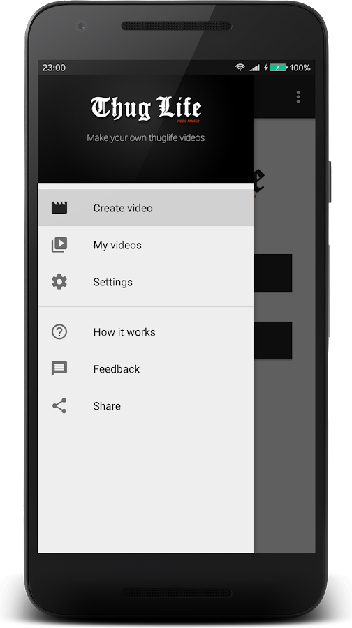 Thuglife video maker android apps on google play thuglife video maker screenshot voltagebd Images