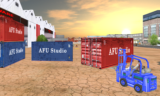 City Cargo Forklift 2017 1.1 screenshots 7