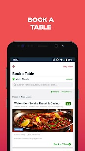 Zomato - Restaurant Finder and Food Delivery App Screenshot