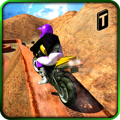 latest Crazy Offroad Hill Biker 3D free download