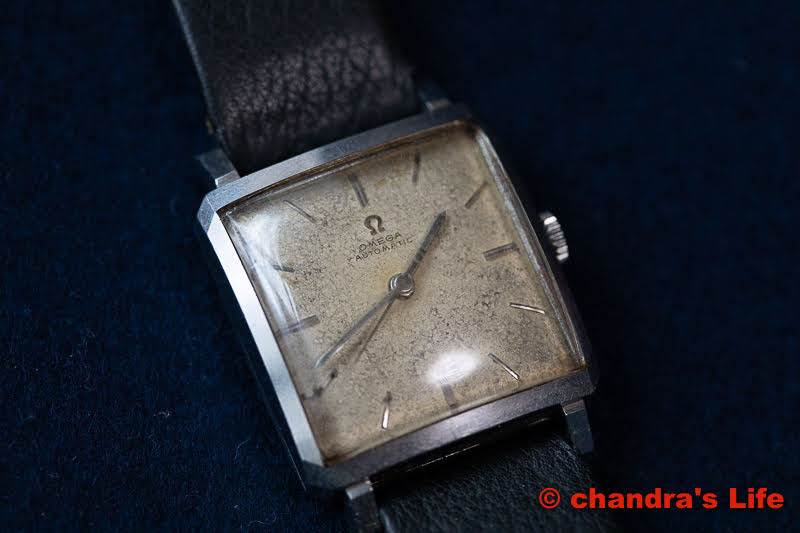 Omega Square – Automatic 3971-SC 父の時計