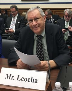 Charles Leocha Testifying in Washington, DC