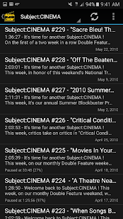 Subject:CINEMA- screenshot thumbnail