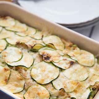 Zucchini and Asparagus Strata