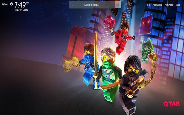 Ninjago Movie Wallpapers HD Theme