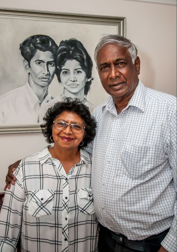 Aloysious Ron and Olga Williams have been married for 50 years