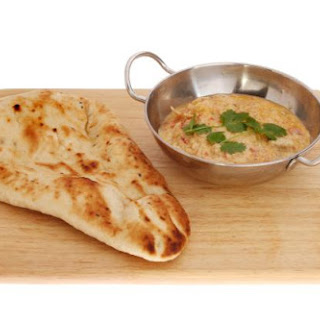 Naan (leavened Indian flatbread)