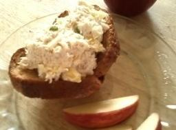 Tuna-apple Salad Toast Cups Recipe