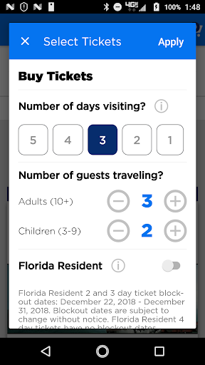 Universal Orlando Resortu2122 The Official App 1.32.0 Screenshots 5