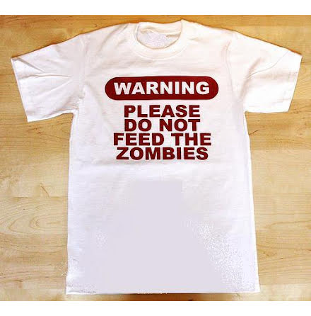 T-Shirt - Warning