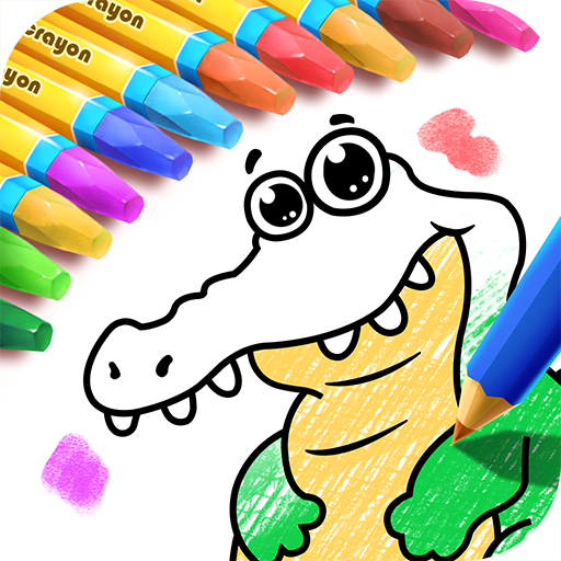 색칠 페이지 -정글 모험 休閒 App LOGO-APP開箱王