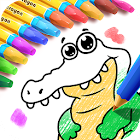 Coloring Book - Kids Drawing icon