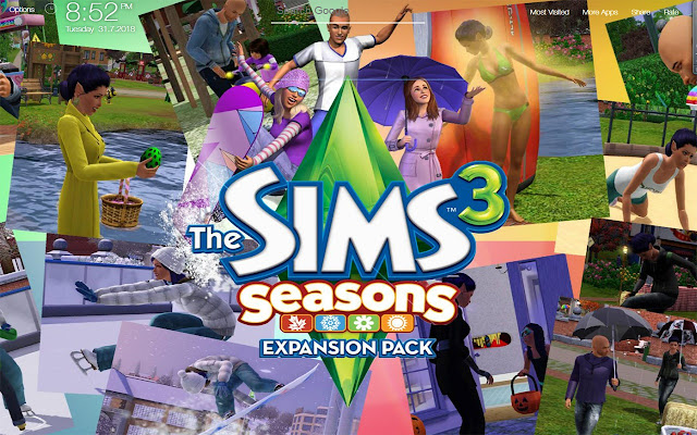 Sims 3 Game Fullhd New Tab Wallpapers