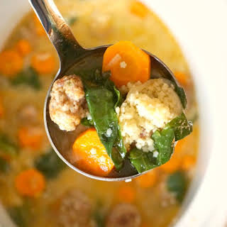 Easy Italian wedding soup.