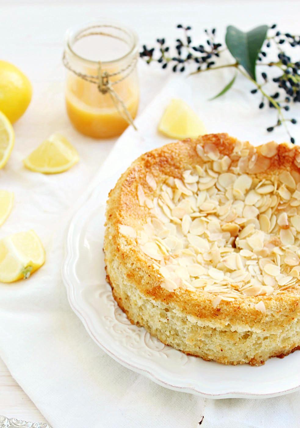 Lemon Ricotta Almond Cake {gluten free}