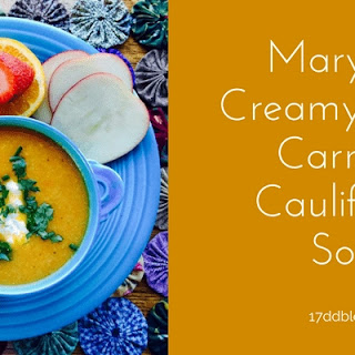 MaryPat's Creamy Apple, Carrot & Cauliflower Soup