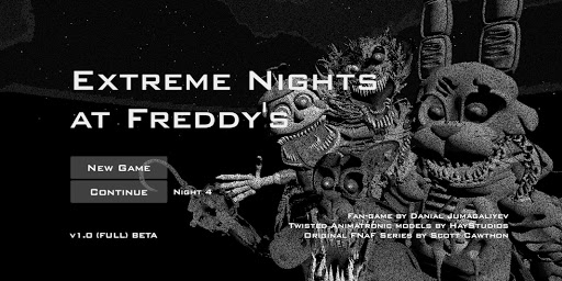 Extreme Nights at Freddy's FULL 1.0 FULL VERSION (BETA) {cheat|hack|gameplay|apk mod|resources generator} 1
