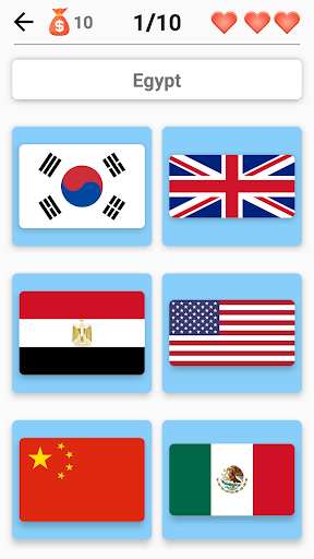 Flags of All Countries of the World: Guess-Quiz  screenshots 2