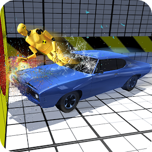 Muscl Car Crash Test Simulator for PC and MAC