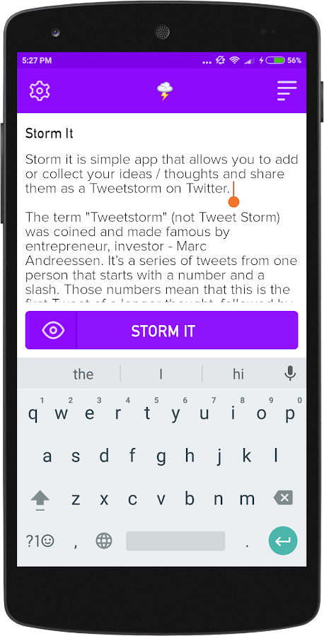Storm it- screenshot