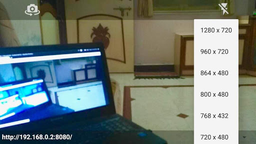 Camera Stream Wifi 2.1 screenshots 2