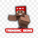 Trending Skins Pack For Minecraft icon