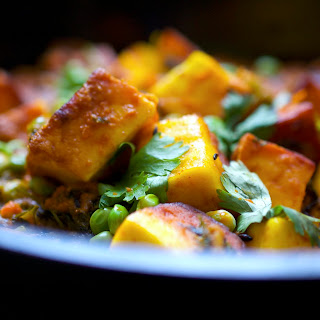 Paneer With Peas Recipes