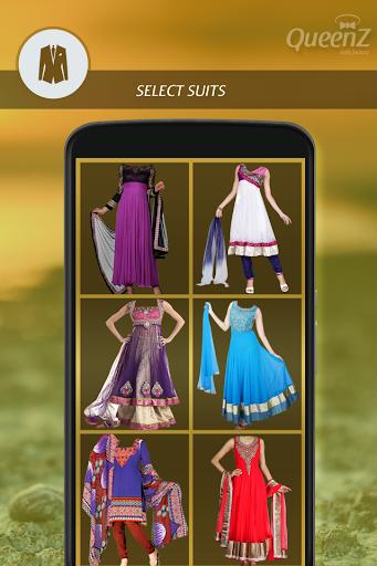Indian Woman Dress Photo Suit