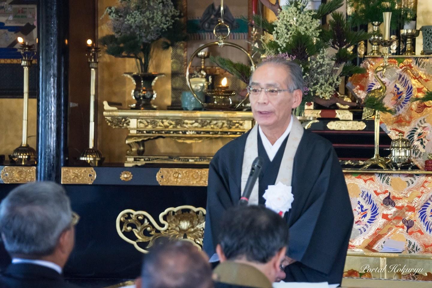 北海道教区第11組・水上尚澄 組長