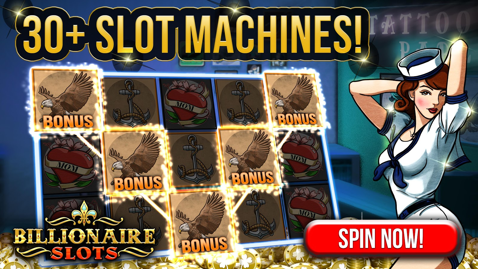 Slots Billionaire - Free Casino Slot Games!- screenshot