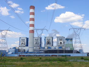 Photo: Węglarki na tle Elektrowni Opole {Borki Opolskie; 2014-07-16}