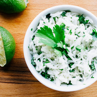 Better-than-Chipotle's Cilantro lime rice.