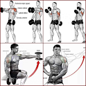 bodybuilding muscle training tutorial icon