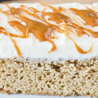 Frosted Caramel Zucchini Bars Recipe